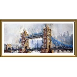 Легендарный лондонский мост - Нова Слобода - набор вышивки бисером