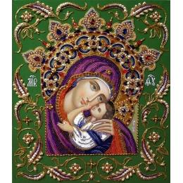 """Богородица """"УМИЛЕНИЕ В КОРОНЕ"""" - Изящное Рукоделие - набор для вышивки бисером"""