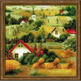 Сербский пейзаж - РИОЛИС - набор для вышивки крестом