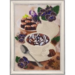 Фиалковый натюрморт - Butterfly - набор для вышивки бисером