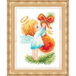 Ангел Рождества - Чудесная игла - набор вышивки крестом