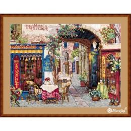 Кафе в Вероне - ТМ Мережка - набор вышивки крестом