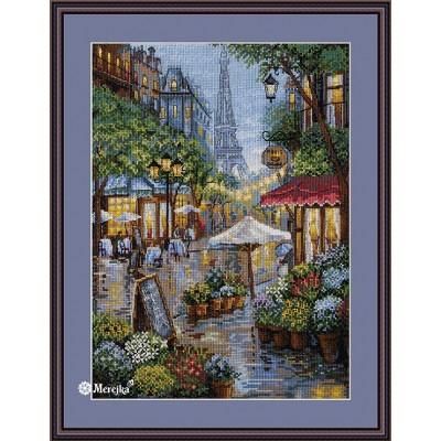 Набор для вышивки крестом - ТМ Мережка - Дождливый Париж