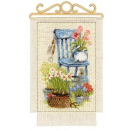 Дача. Весна - РИОЛИС - набор для вышивки крестом