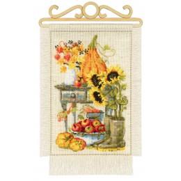 Дача. Осень - РИОЛИС - набор для вышивки крестом