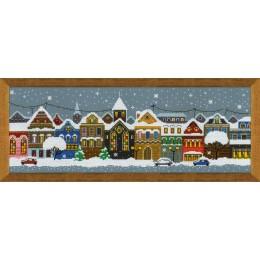 Рождественский город - РИОЛИС - набор для вышивки крестом