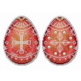 Набор для вышивки крестом - МП Студия - Р-169 Алая писанка