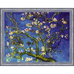 """""""Цветущий миндаль"""" по мотивам картины В. Ван Гога - РИОЛИС - набор для вышивки крестом"""