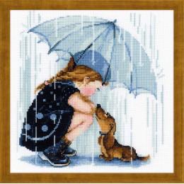 Дождик - РИОЛИС - набор для вышивки крестом