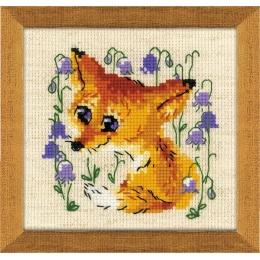 Набор для вышивки крестом - РИОЛИС - 1776 Маленький лисенок