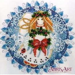 Рождественский ангел - Абрис Арт - набор для вышивки бисером