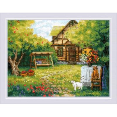 Загородный домик - РИОЛИС - набор вышивки крестом