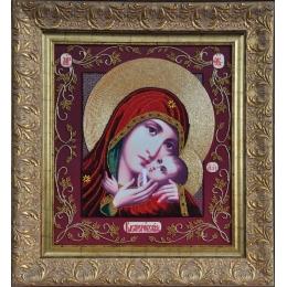 Икона Божья Матерь Касперовская - Изящное рукоделие - вышивка бисером икон