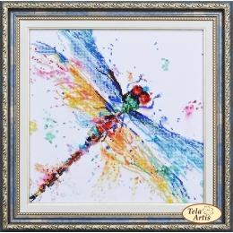 Стрекоза - Тэла Артис - набор вышивки бисером