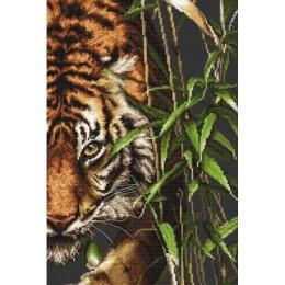 Набор для вышивки крестом - Luca-S - B2356 Тигр