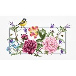 Весенние цветы В2359 - Luca-S - набор для вышивки крестом
