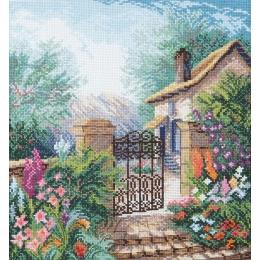 Цветущий сад - Crystal Art - набор для вышивки крестом