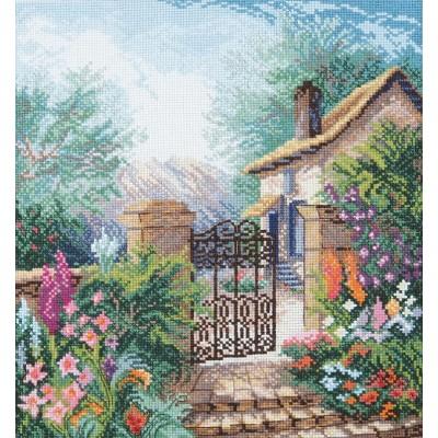 Набор для вышивки крестом - Crystal Art - Цветущий сад