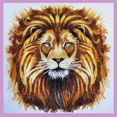 Набор для вышивки бисером - Картины бисером - Царь зверей