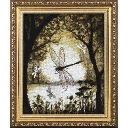 Набор для вышивки крестом - Чарівна Мить - М-298 Счастье на бронзовых крыльях