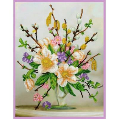 Аромат весны - Картины бисером - набор для вышивки бисером