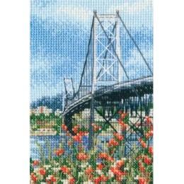 Висячий мост Эрсилью Луш - RTO - набор для вышивки крестом