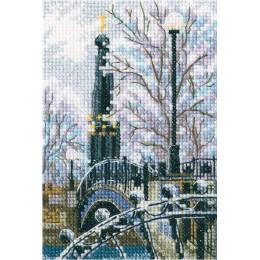 Мостик вздохов в Лопатинском саду - RTO - набор вышивки крестом