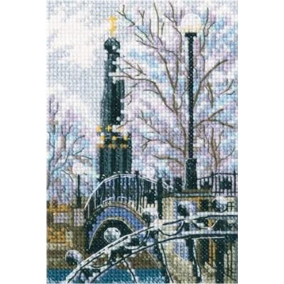 Набор вышивки крестом - RTO - Мостик вздохов в Лопатинском саду