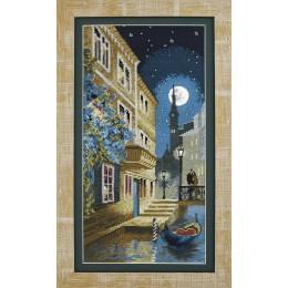 Набор для вышивки крестом - Чарівна Мить - М-315 Лунный вечер в Венеции