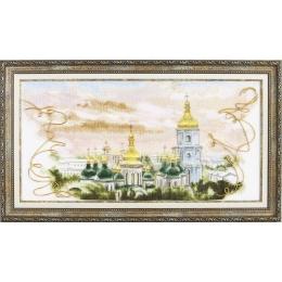 Набор для вышивки крестом - Чарівна Мить - М-320 Золотые купола