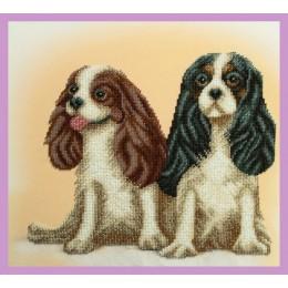 Набор для вышивки бисером - Картины бисером - Парочка Кавалеров
