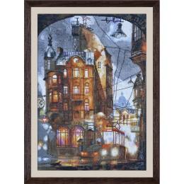 Ночной город - Нова Слобода - набор вышивки крестом