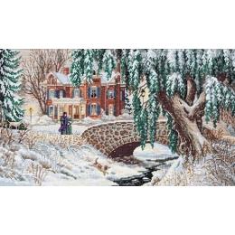 Winter Lace / Зимние кружева - Dimensions - набор для вышивки крестом