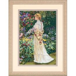 In her Garden (В ее саду) - Dimensions - набор для вышивки крестом