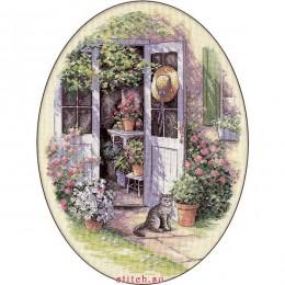 Садовая дверь - Dimensions - набор для вышивки крестом