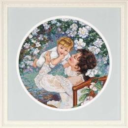 Материнское счастье - Dimensions - набор для вышивки крестом