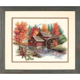 Glory of Autumn (Торжество осени) - Dimensions - набор для вышивки крестом
