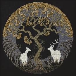 Набор для вышивки крестом - Чарівна Мить - М-352 Волшебная ночь