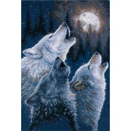 Набор для вышивки крестом - Dimensions - In Harmony Wolves (В гармонии)
