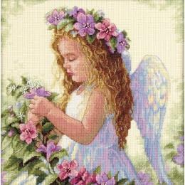Цветочный ангел - Dimensions - набор для вышивки крестом