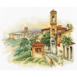 Приморский городок - RTO - набор вышивки крестом