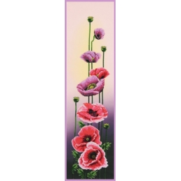 Маки - Картины бисером - набор для вышивки бисером