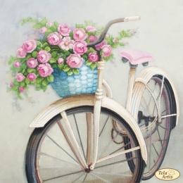 Любимый велосипед - Тэла Артис - схема вышивки бисером