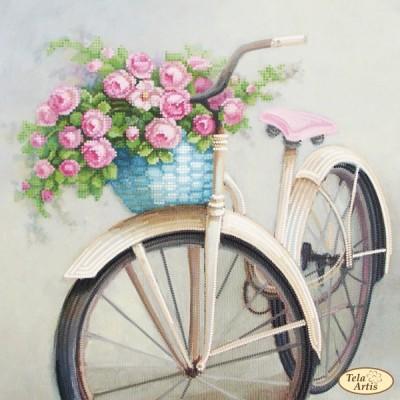 Схема вышивки бисером - Тэла Артис - Любимый велосипед