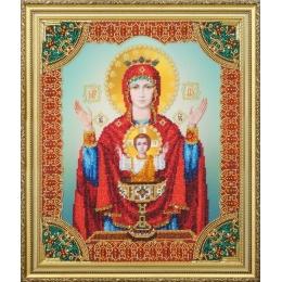 """Икона Божьей Матери """"Неупиваемая Чаша"""" - Картины бисером - вышивка бисером икон"""