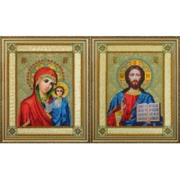 Венчальные иконы - Картины бисером - вышивка бисером икон