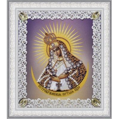Остробрамская икона Божьей Матери (ажур) - Картины бисером - вышивка бисером икон