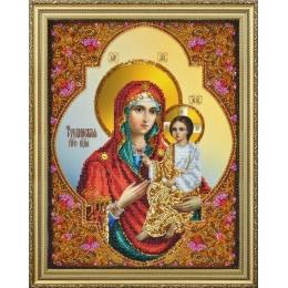 Тихвинская икона Божией Матери - Картины бисером - вышивка бисером икон