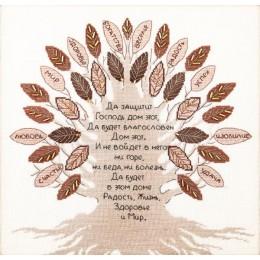 Набор для вышивки крестом - Чарівна Мить - М-378 Дерево благословение