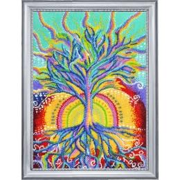 Набор для вышивки бисером - Butterfly - №379 Солнечное дерево